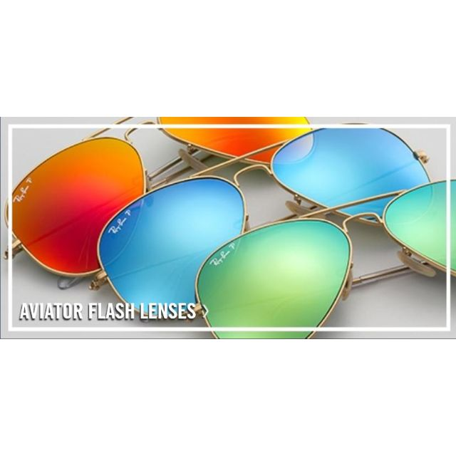 234bb5cdfa22 Rayban Aviator Flash Lens Polarized sunglasses at Affordable ...