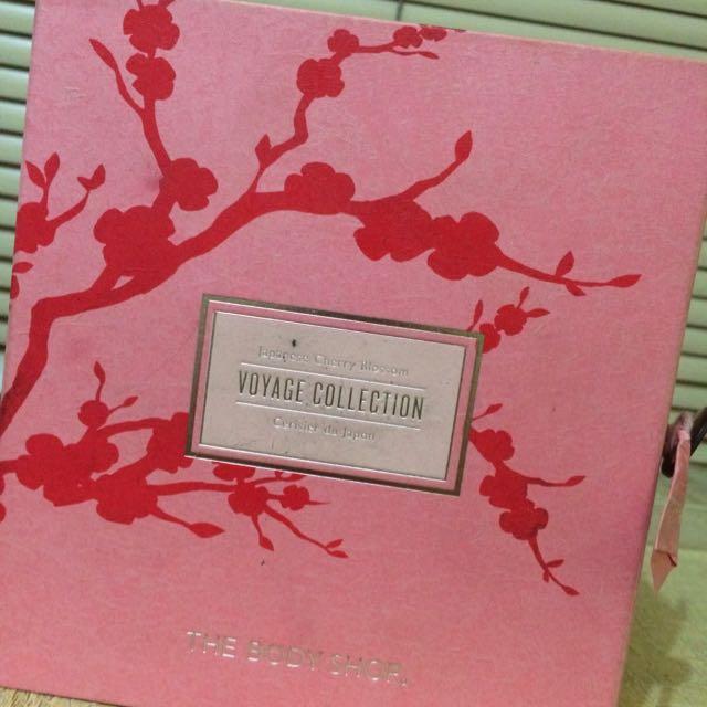 The Body Shop 日本櫻花香氣系列