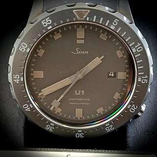 Sinn U1 BLACK Stealth Limited Edition