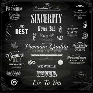 SINCERITY ♡♡♡