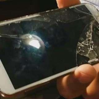 Cracked Samsung S4