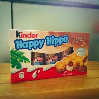 來自香港的kinder河馬巧克力