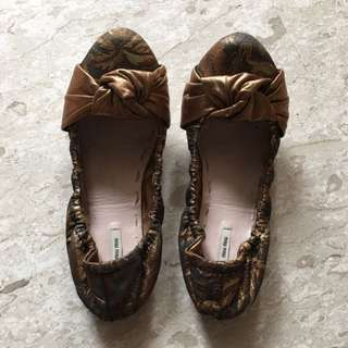 Authentic Miu Miu Shoes