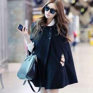 Beautiful Stylish Wool Cape Cardigan
