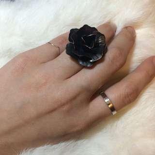🚚 ⑥⑥質感銅玫瑰戒