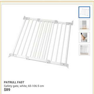 PreLoved Ikea Patrull Fast Safety Gate