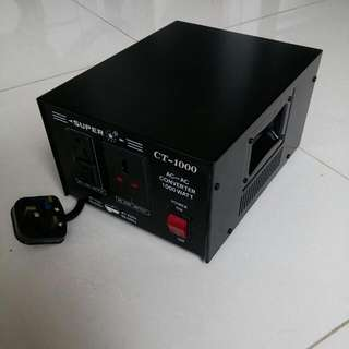 AC to AC Converter 110V To 220V (vice versa)