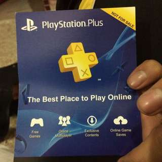 Ps Plus 1 Year Acc Code
