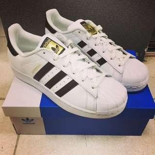 韓國 Adidas 愛迪達 Superstar 休閒球鞋 版鞋 運動鞋 貝殼鞋 基本款 金標 版型正常 韓國代購 白色 全新正品 預購訂購約15-25工作天 可私訊詢問 預購訂購
