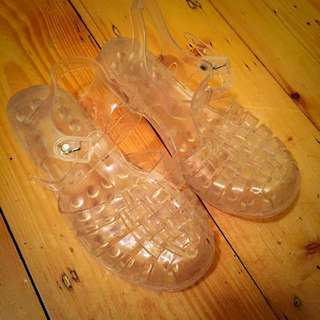 Clear Jelly Beans Shoes