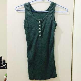 ❗️便宜賣❗️墨綠色 背心