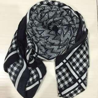(韓)可當圍巾也可當披巾