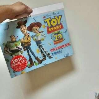 玩具總動員月曆 迪士尼購入