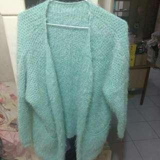 Tiffany毛線針織厚外套