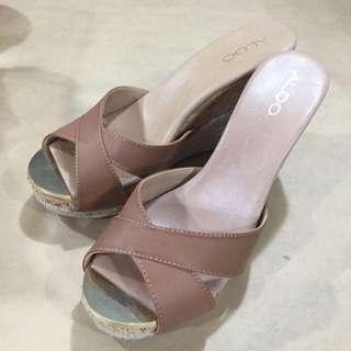 全新ALDO楔型鞋