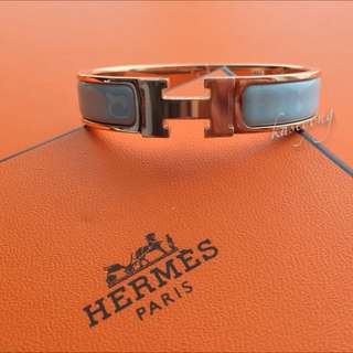 *SALE* Hermes Clic Clac Rose Gold Hardware