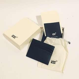 Mont Blanc Leather Pocket Card Holder 6 cc