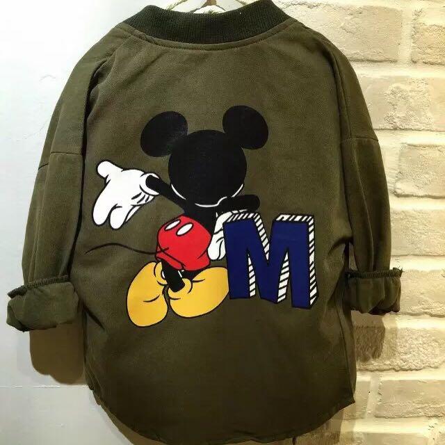 正韓-米老鼠兒童外套