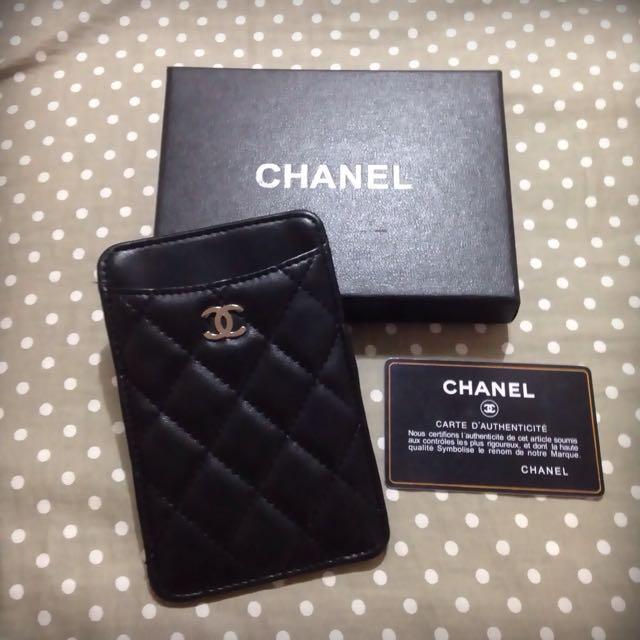 香奈兒 Chanel 同款手機套卡片套 可放iphone 5/iphone 6