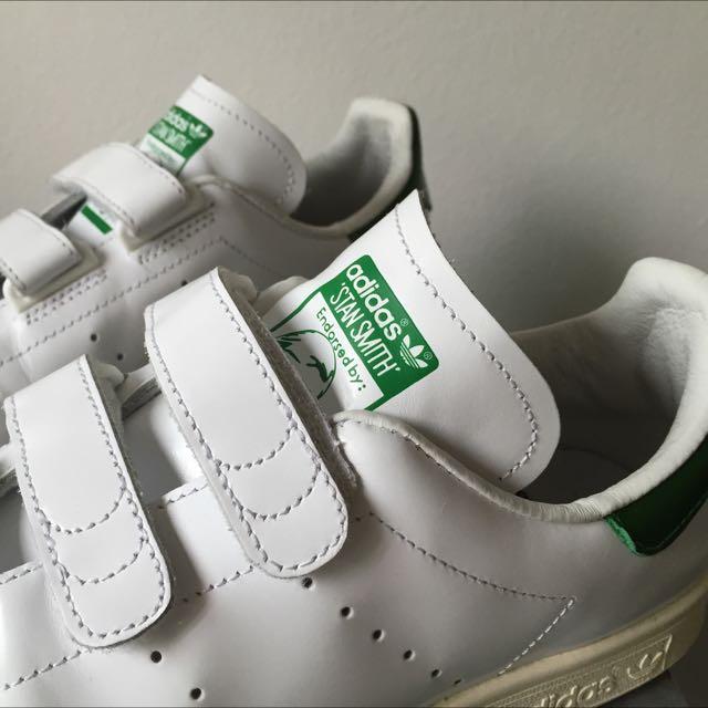 Nigo x Adidas Stan Smith Velcro B26000