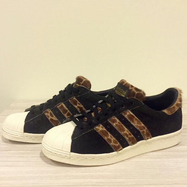 Adidas Superstar 80s GRF X-Large 聯名款長頸鹿紋😻