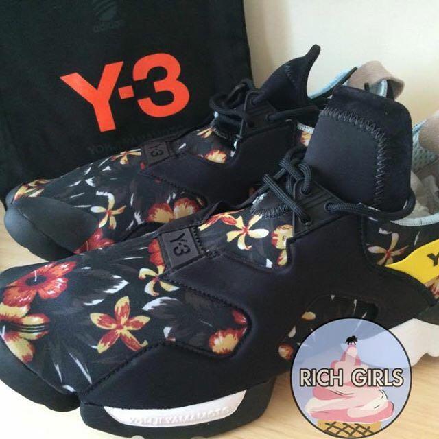"cbefe37e0 Adidas Y-3 Kohna ""Floral"" Yohji Qasa 春夏款經典花卉"