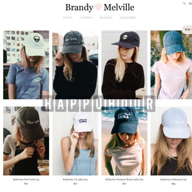 超熱賣-代購Brandy Melville 棒球帽