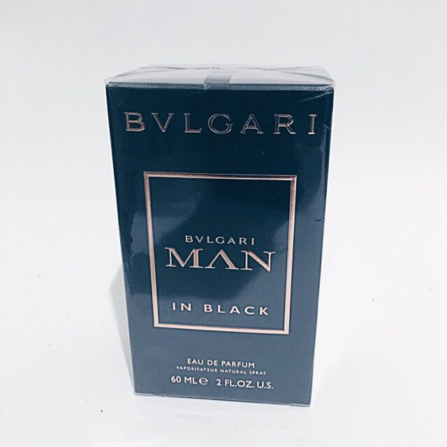 BVLGARI MAN IN BLACK PERFUME 60ml
