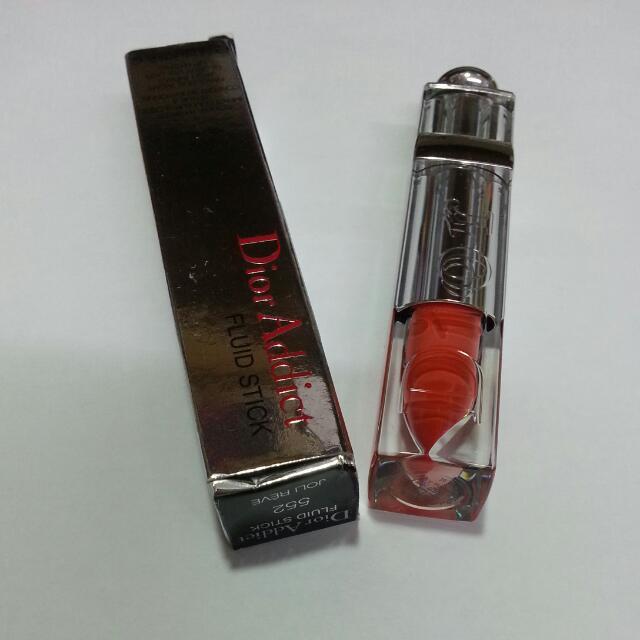 降價唷~~Dior 癮誘水感唇膏#552