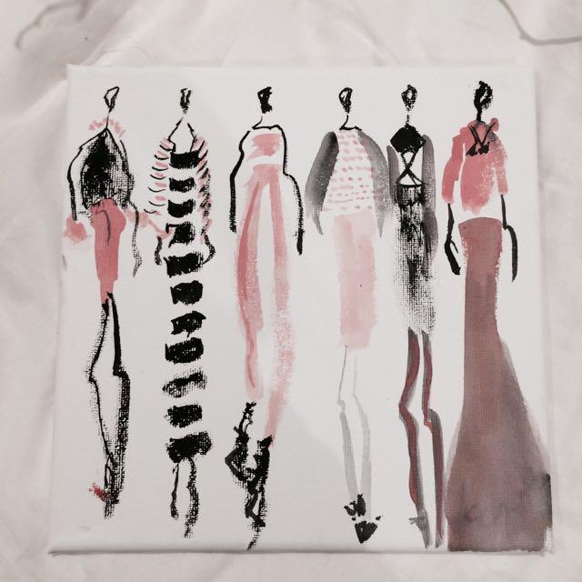 Fashion Drawing By Eva Chow