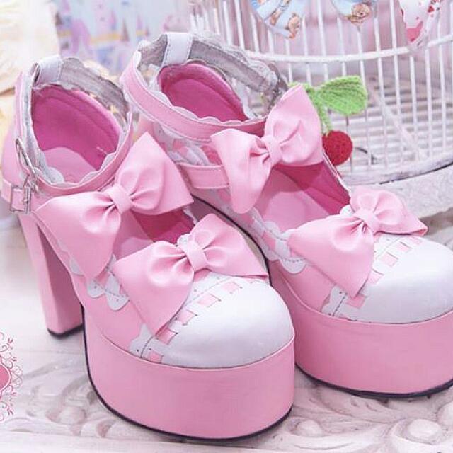 Handmade Lolita Shoes - Tinggi hak 12cm