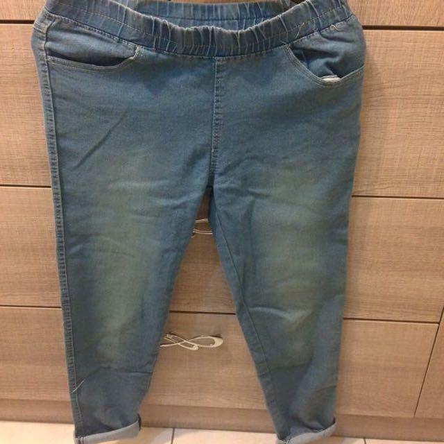 牛仔長褲L