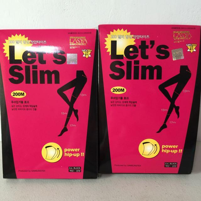Lasya Let's slim 韓國爆瘦褲襪