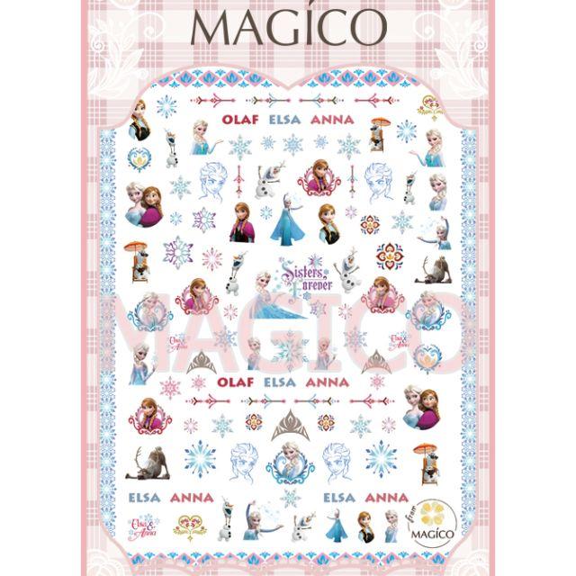 MAGICO極薄美甲貼紙-#46(10張免運費)