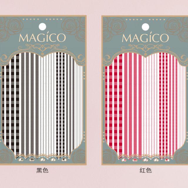 MAGICO極薄美甲貼紙-#47(10張免運費)