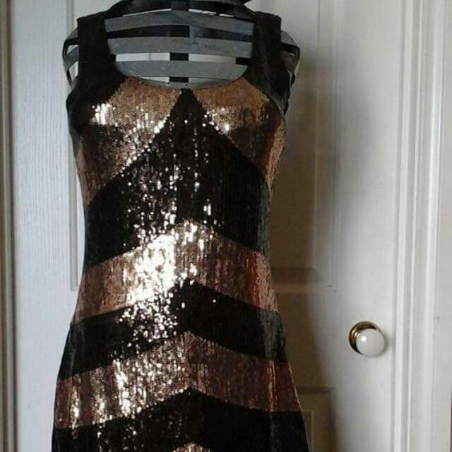 New Sequin Dress With Tags