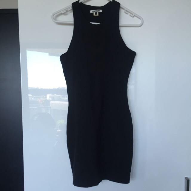 Quiksilver Dress S (bow back)