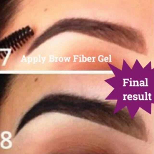 Younique Fiber Brow Gel And Brow Pencils Health Beauty On Carousell