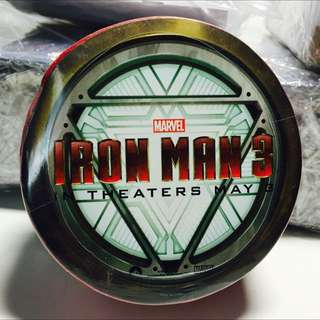 Authentic Iron Man 3 Promo Red T-Shirt