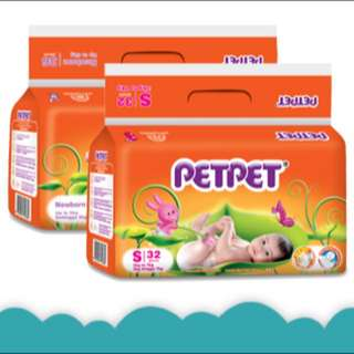 PetPet Size S Diapers