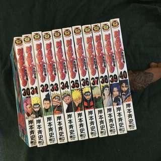 火影忍者Naruto 30-40集