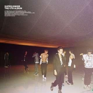 🚚 韓國購入🇰🇷正版Super Junior四輯【SJ FUNKY】(B版)