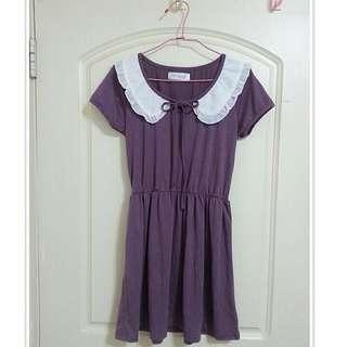 東京著衣-短袖連身裙