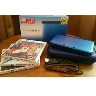 [RESERVED] Nintendo 3DS XL with 3 GAMES and Freebies!