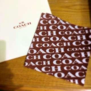 全新正版cocch大方巾(送禮.自搜藏皆可)附包裝紙盒