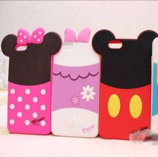 迪士尼背影矽膠軟殼 iPhone