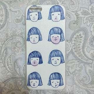 保留 短髮girl表情8連拍iphone6/6s 手機殼4.7