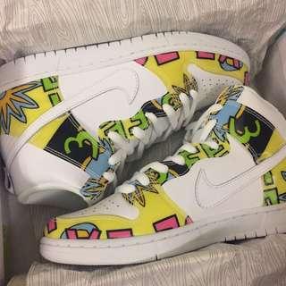 Nike Sb 跳跳虎 Us9 白