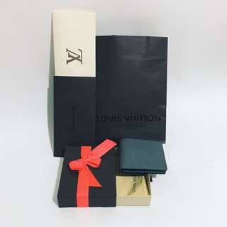 Louis Vuitton SLENDER WALLET Glacier M32701 Orig.$610