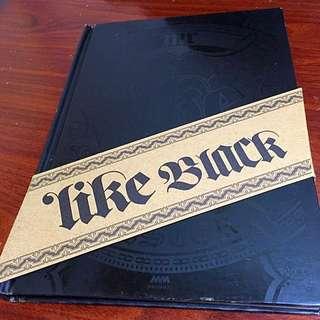 香港親帶Mr.樂隊 Like Black 黑色狂迷  CD+DVD 專輯大碟